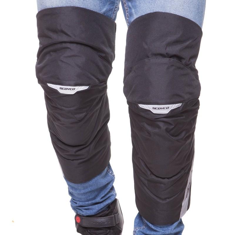 Мотозащита (колено, голень) 2шт SCOYCO K21