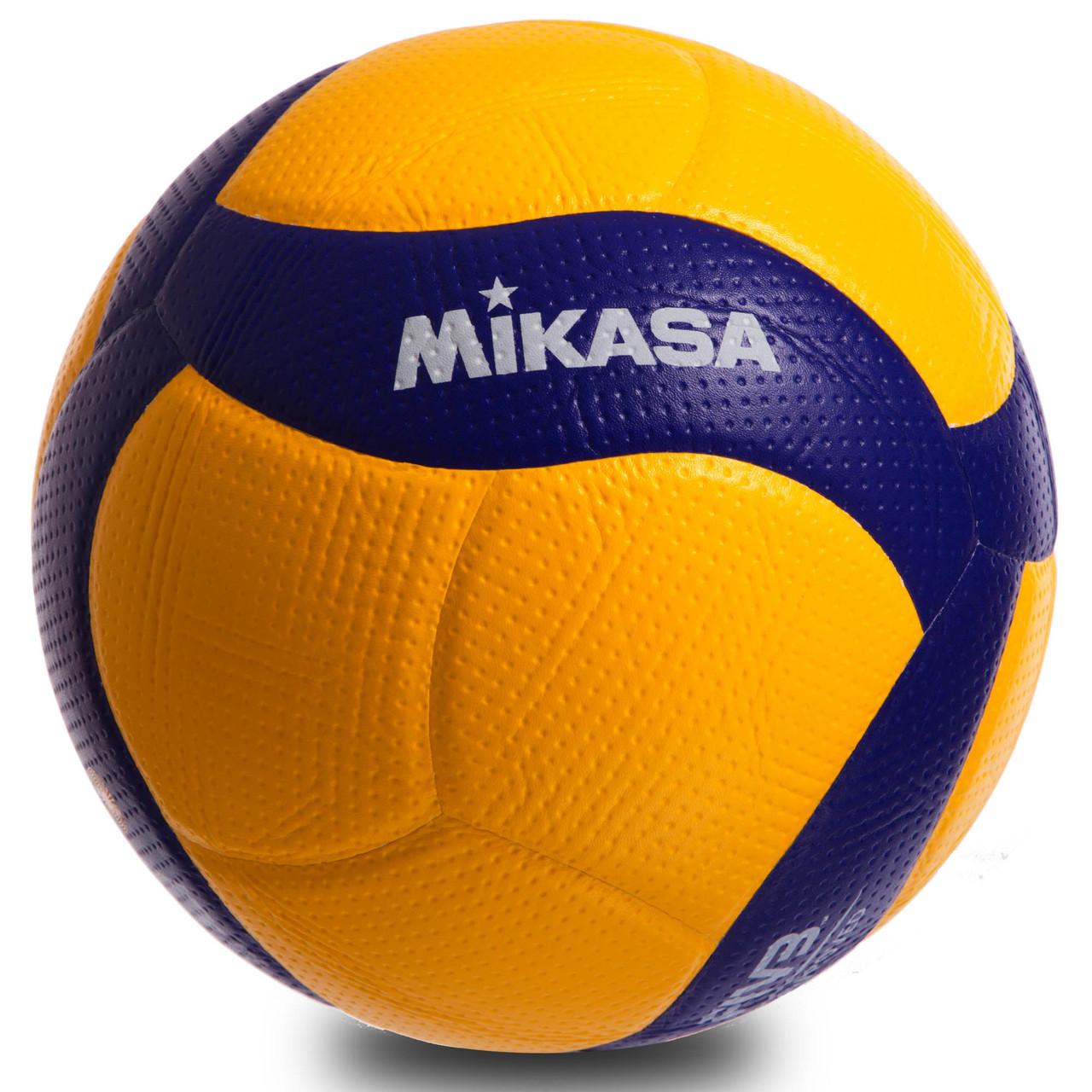Мяч волейбольный Клееный PU MIKASA V200W