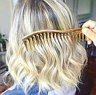Гребень для волос Janeke Golden Large Wide Tooth, фото 3