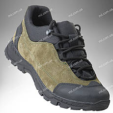 Тактическая обувь / демисезонные военные кроссовки Trooper CROC (оливковый)
