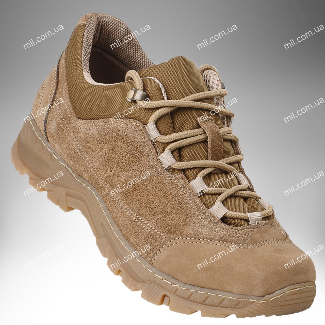 Тактическая обувь / демисезонные военные кроссовки Trooper DESERT (койот)