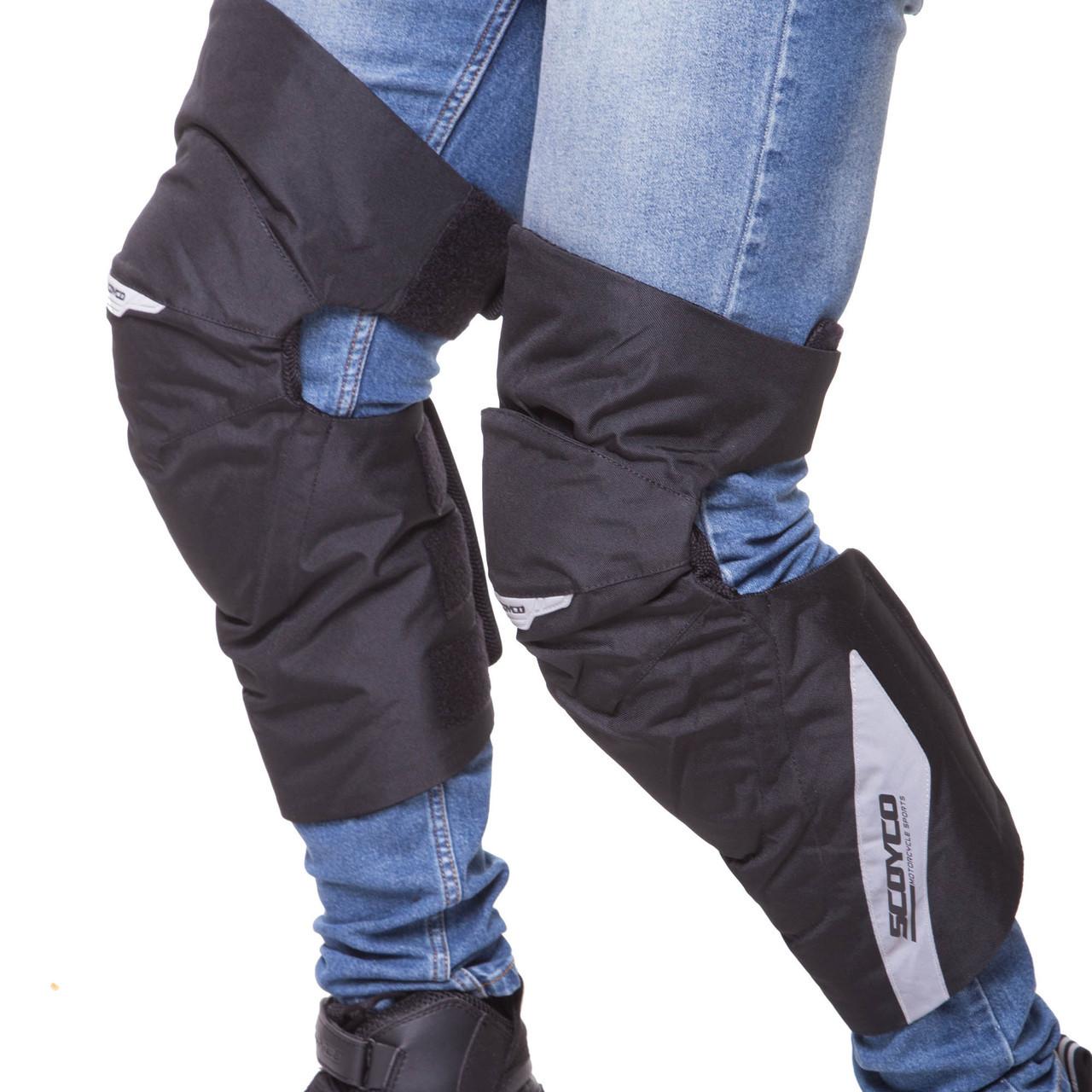 Мотозащита (коліно, гомілка) 2шт SCOYCO K21