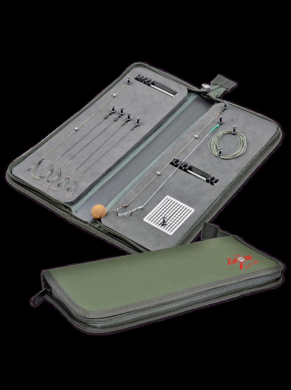 Поводочница на блискавці Carp Zoom Rig wallet (36x14x4cm)