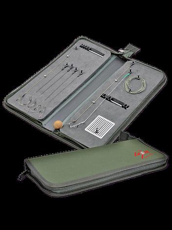 Поводочница на блискавці Carp Zoom Rig wallet (36x14x4cm), фото 2