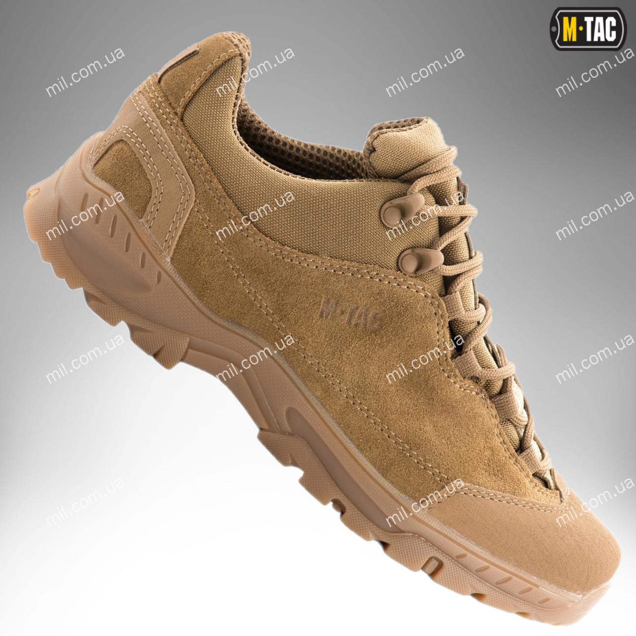 Военная обувь / демисезонные тактические кроссовки M-TAC PATROL (coyote)
