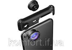 Панорамный объектив на телефон XPRO 360LINZE 3 в 1, Комплект для создания панорамного видео