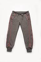 Детские спортивные брюки для девочки (серый)