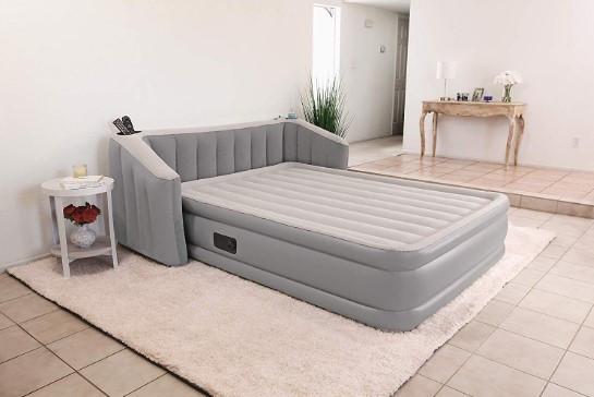 Надувне ліжко зі спинкою Bestway 67620 розмір 233 х 196 х 80 см, двоспальне.