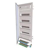 EATON Щит на 48 автоматов металическая дверь внутренний KLV-48UPS-F (шт.)