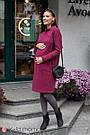 Плаття для вагітних і годуючих оверсайз вишневе Юла Мама Allix DR-49.172 xS, фото 7
