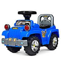 Детская каталка-толокар Джип Bambi HZ 553-4 синий