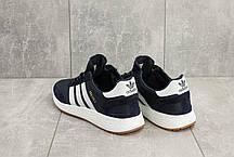 Мужские кроссовки текстильные весна/осень синие Classica G 5108 -4, фото 2