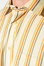 Рубашка 50PD0119 цвет Салатово-коралловый, фото 3