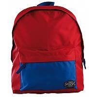 Спортивный молодежный рюкзак красный с синим для девушек Smart ST-29 Chili pepper для города (557925)