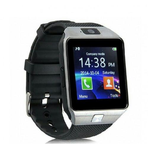 Uwatch Phone  Dz09 Серебро-Черный