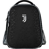 Рюкзак (ранец) школьный ортопедический черный для мальчиков Kite Education FC Juventus JV20-531M