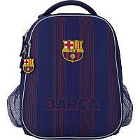Школьный ортопедический рюкзак (ранец) синий для мальчиков Kite Education FC Barcelona BC20-531M