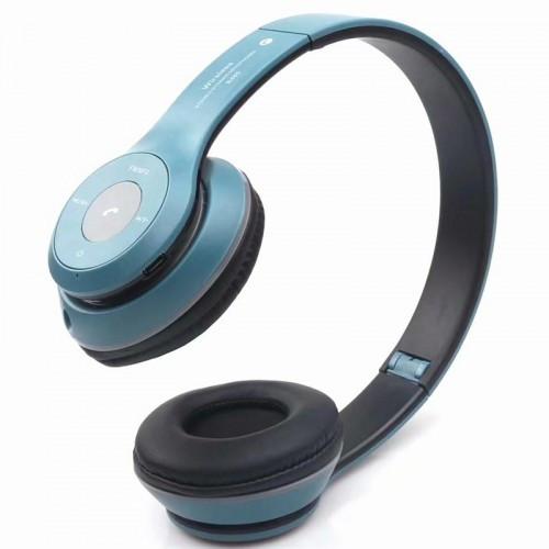 Беспроводные Bluetooth Наушники B460 Синие (91456) (Sf)