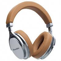 Беспроводные Bluetooth Наушники Bluedio F2 Коричневые (М1)