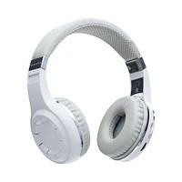 Беспроводные Bluetooth Наушники Bluedio H+ Белые (М1)