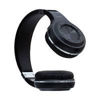 Беспроводные Bluetooth Наушники Bluedio H+ Черные (М1)
