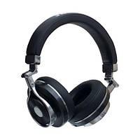 Беспроводные Bluetooth Наушники Bluedio T3 Черные (М1)