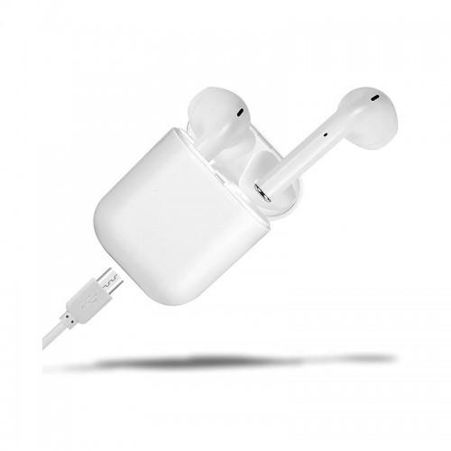 Беспроводные Bluetooth Наушники Hbq F11 C Зарядным Кейсом Power Bank Белые (Lp)
