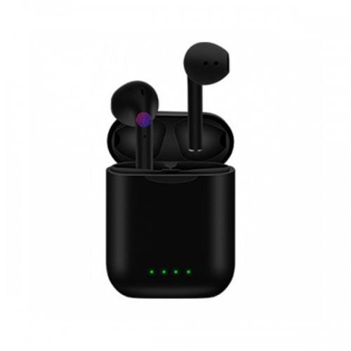 Беспроводные Bluetooth Наушники Hbq I88 C Зарядным Кейсом Power Bank Черные (Lp)