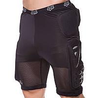 Шорты защитные с защитой спины для экстремальных видов спорта FOX M-4533
