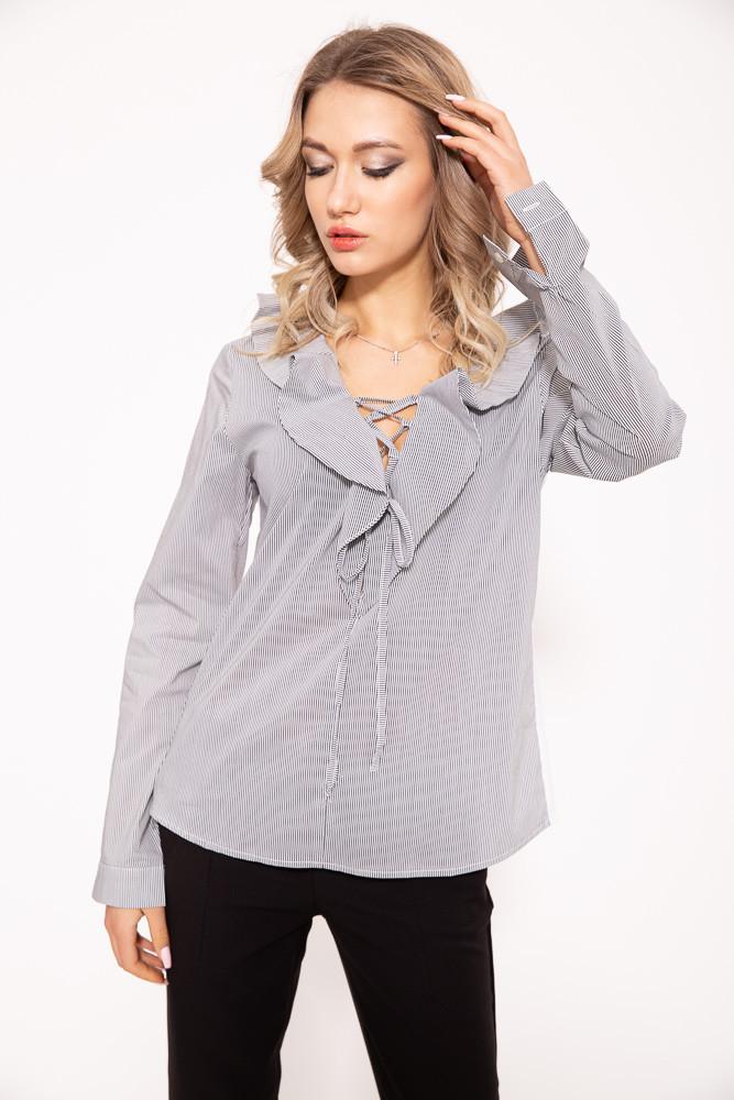 Блузка женская 115R343 цвет Черно-белый