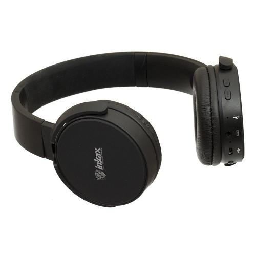 Беспроводные Bluetooth Наушники Inkax Hp-06 Черный (М1)