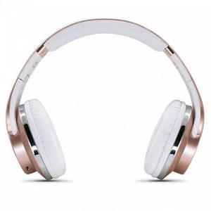 Беспроводные Bluetooth Наушники Sodo Mh1 С Функцией Колонок Золото (Sf)