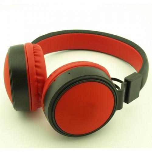 Беспроводные Bluetooth Наушники Supero Jb60 Красные (85607) (Sf)