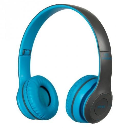 Беспроводные Bluetooth Наушники Supero P47 Синие (80515) (Sf)