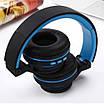 Беспроводные Bluetooth Наушники Supero Sm-896 Синие (88229) (Sf), фото 2