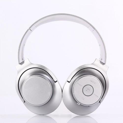 Беспроводные Bluetooth Наушники Supero St8 C Fm Серебро (83102) (Sf)