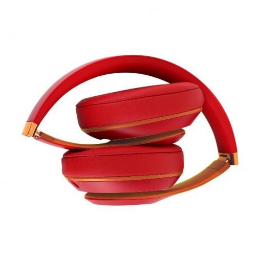 Беспроводные Bluetooth Наушники Supero Studio3 Красные (89158) (Sf)
