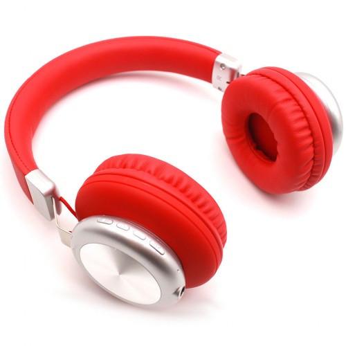 Беспроводные Bluetooth Наушники Supero Sy-Bt1616 Красные (88943) (Sf)