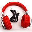 Беспроводные Bluetooth Наушники Supero Sy-Bt1616 Красные (88943) (Sf), фото 2
