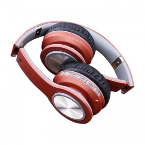 Беспроводные Bluetooth Наушники V32 Коричневые (91276) (Sf)