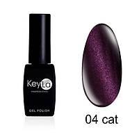 TOP COAT з ефектом котячого ока KeyLa №04 8 мл