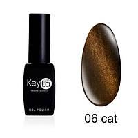 TOP COAT з ефектом котячого ока KeyLa №06 8 мл