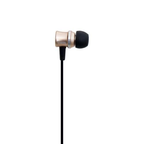 Беспроводные Bluetooth Наушники Yison E8 Золотые (М1)