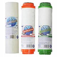 Aquafilter - Комплект картриджей  хлор + сероводород