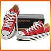 Кеды Converse Style All Star Красные низкие (36р) Тотальная распродажа, фото 3