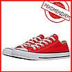 Кеды Converse Style All Star Красные низкие (44р) Тотальная распродажа, фото 2