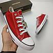 Кеды Converse Style All Star Красные низкие (44р) Тотальная распродажа, фото 5