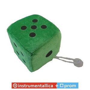 Игрушка Кубик на присоске 8 см зеленый