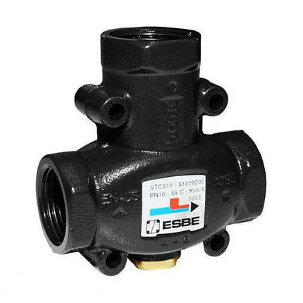 """Трехходовой смесительный клапан Esbe VTC511 60°C DN32 1 1/4"""", фото 2"""