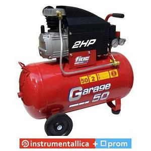 Компрессор поршневой прямоприводный Garage 50 ресивер 50 л пр-сть 170 л/мин 1129981003 Fiac